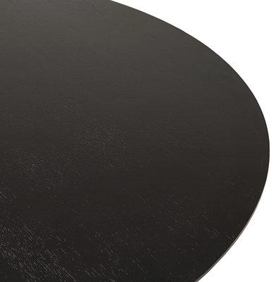 Eettafel BLETA 120 Zwart