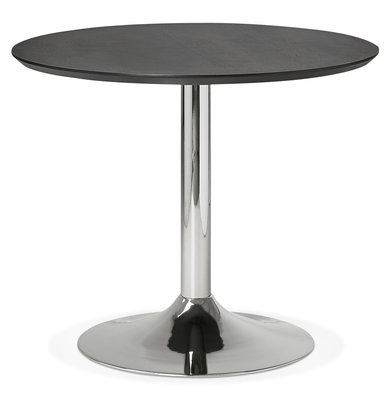 Eettafel BLETA 90 Zwart