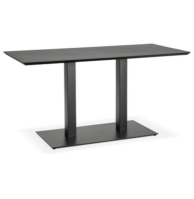 Eettafel JAKADI Zwart Zwart