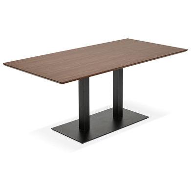 Eettafel JAKADI Walnoot Zwart
