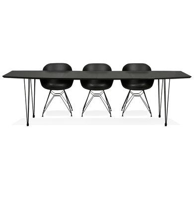 Eettafel STRIK Zwart