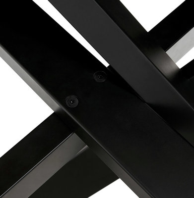 Eettafel ROYALTY Zwart-Zwart