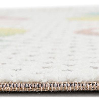 Vloerkleed ROZO 80x150 cm Mix