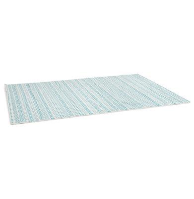 Vloerkleed SCRIBO 160x230 cm Blauw