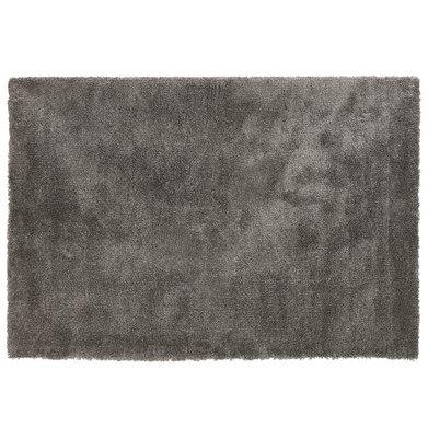 Vloerkleed POAL 160x230 cm Donkergrijs
