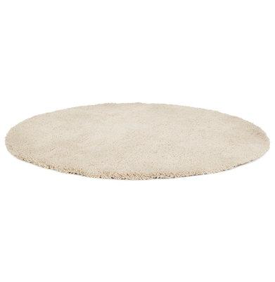 Vloerkleed POAL Ø 200 CM Crème