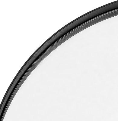Spiegel TOTO Ø 60,5 CM Zwart
