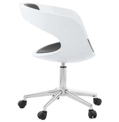 Bureaustoel FELIX Wit-Zwart