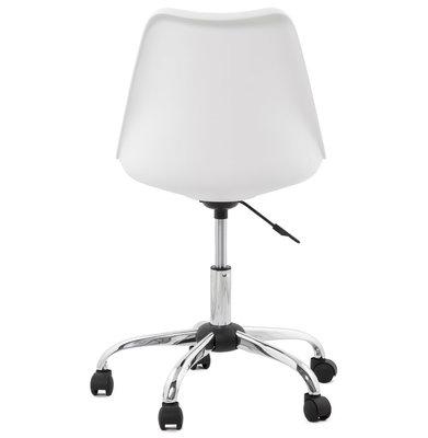 Bureaustoel EDEA Wit-Zwart