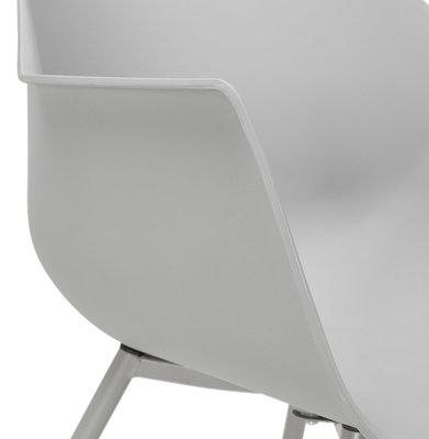 Design Stoel STILETO Grijs