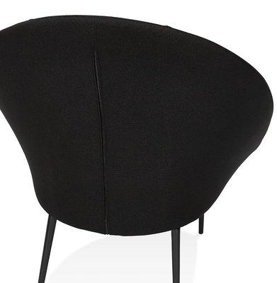 Design Stoel PARABOL Zwart-Zwart