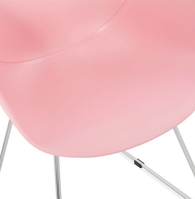 Design Stoel TESTA Roze