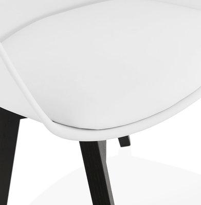 Design Stoel ALCAPONE Wit-Zwart