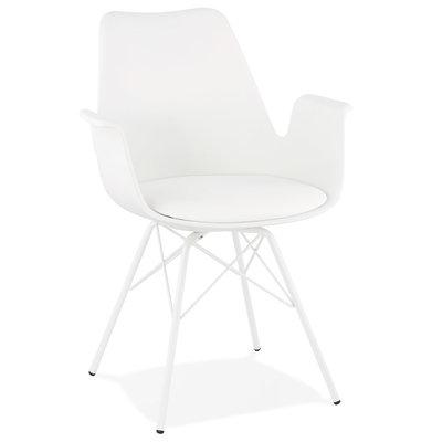 Design Stoel KOKLIKO Wit-Wit