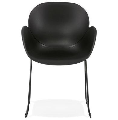 Design Stoel ROXAN Zwart-Zwart