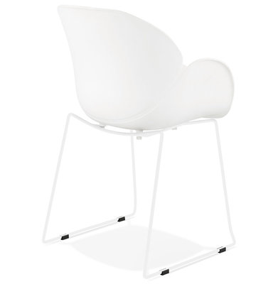 Design Stoel ROXAN Wit-Wit