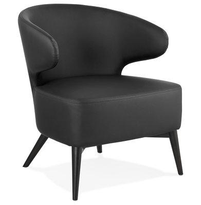 Design Stoel MICHEL Zwart-Zwart