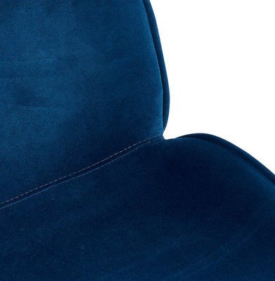Eetkamerstoel AGATH Blauw-Zwart