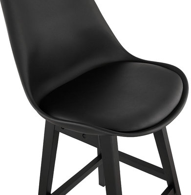 Barkruk APRIL MINI Zwart-Zwart