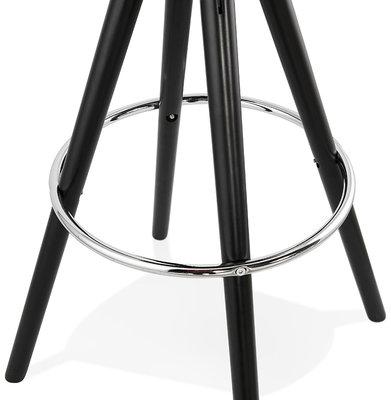 Barkruk AGOUTI MINI 65 Bruin-Zwart