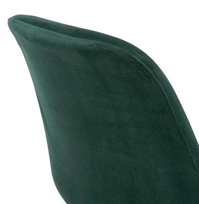 Barkruk BASIL Groen-Zwart