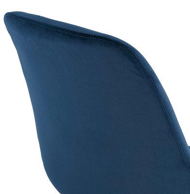Barkruk BASIL Blauw-Zwart