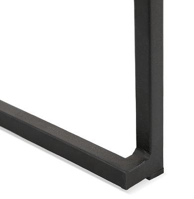 Barkruk CARO Zwart-Zwart