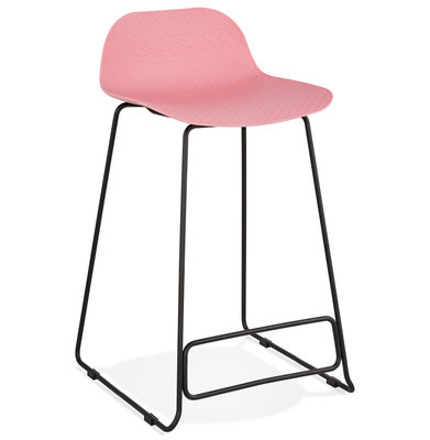 Barkruk SLADE MINI Roze-Zwart