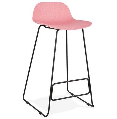 Barkruk SLADE Roze-Zwart
