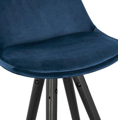 Barkruk CARRY Blauw-Zwart