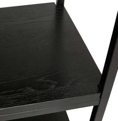 Wandrek ESTANTE Zwart-Zwart 35x120cm