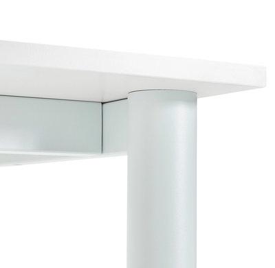 Bureau-Vergadertafel BURO Wit-Wit 160x80cm