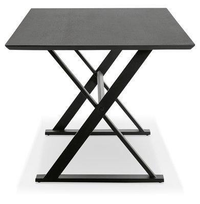 Bureau-Eettafel MAUD Zwart 180x90cm