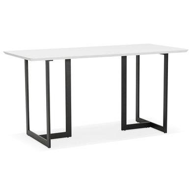 Bureau-Eettafel DORR Wit 150x70cm