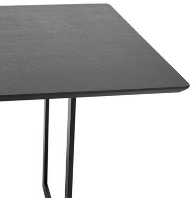 Bureau-Eettafel DORR Zwart 180x90cm