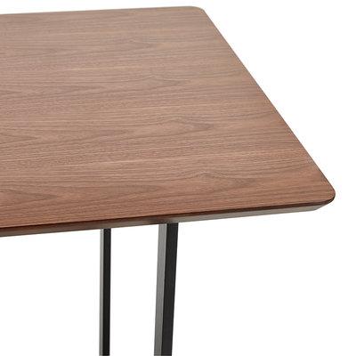 Bureau-Eettafel DORR Walnoot 150x70cm