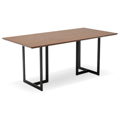Bureau-Eettafel DORR Walnoot 180x90cm