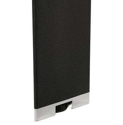 Bureau-Vergadertafel EFYRA Walnoot-Zwart 160x160cm