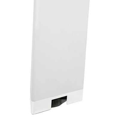 Bureau-Vergadertafel EFYRA Walnoot-Wit 140x140cm