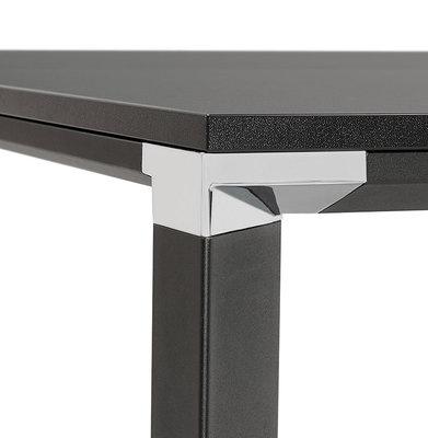 Bureau-Vergadertafel EFYRA Zwart-Zwart 160x160cm