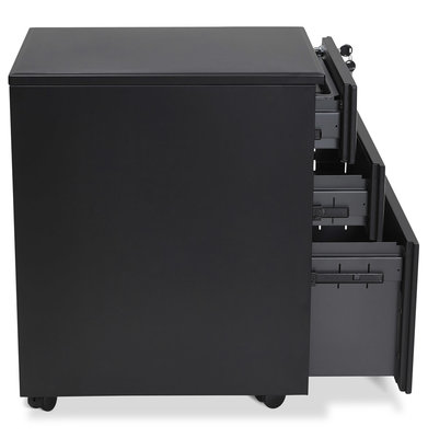Ladeblok OFFICIO Zwart 61x52cm