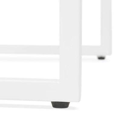 Bartafel MILLIE Zwart-Wit 60x60x102cm