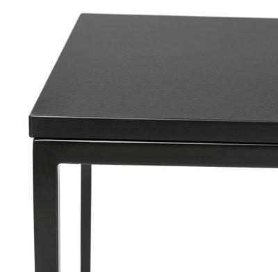 Bartafel MILLIE Zwart-Zwart 60x60x102cm