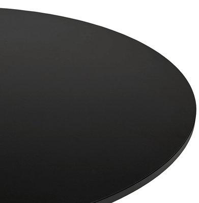 Bartafel LYNN Zwart 90x90x110cm