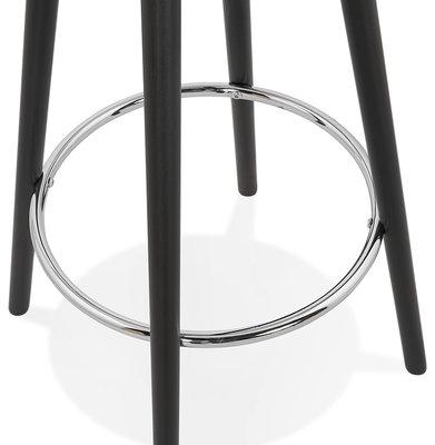 Bartafel DEBOO Wit-Zwart 60x60x110cm