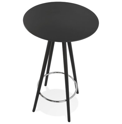 Bartafel DEBOO Zwart-Zwart 60x60x110cm