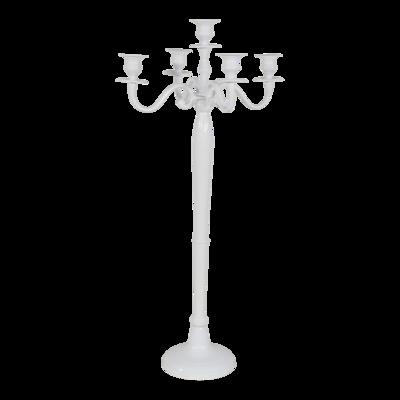 Kandelaar Classic alu wit 78cm