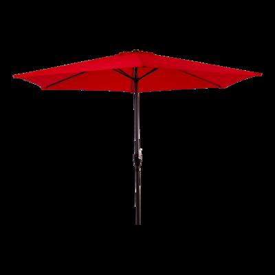 Parasol Gemini rood Ø3mtr