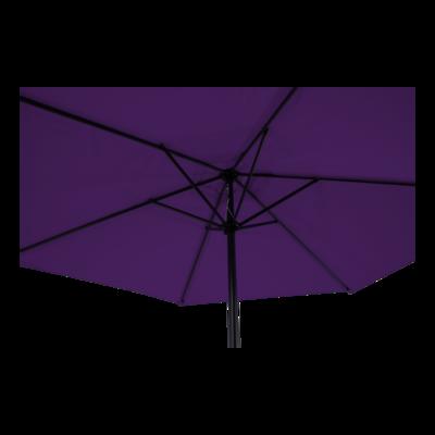 Parasol Gemini paars Ø3mtr