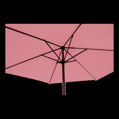 Parasol Gemini soft pink Ø3mtr